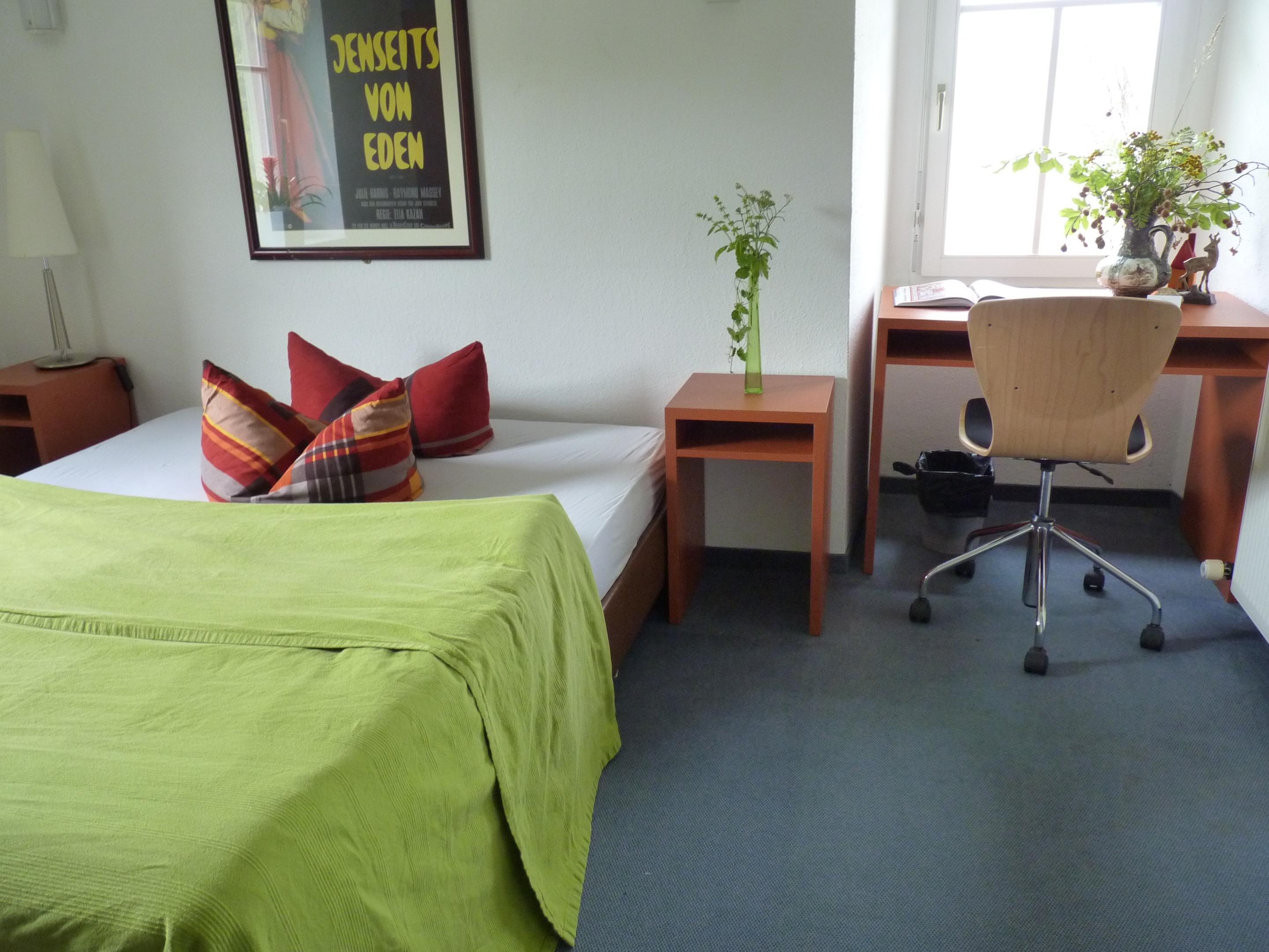 Doppelzimmer-Budget-Ensuite Dusche-Bergblick-Forsthaus 10