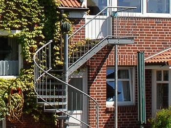 Wendeltreppe, Wohnung 3 Wintergarten