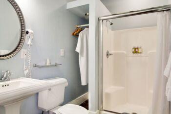 Bathroom in the Lotus Room