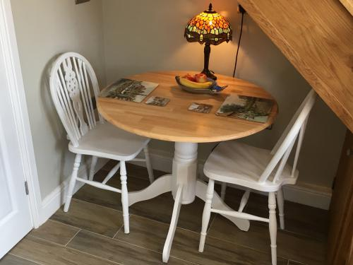 Cosy dining area