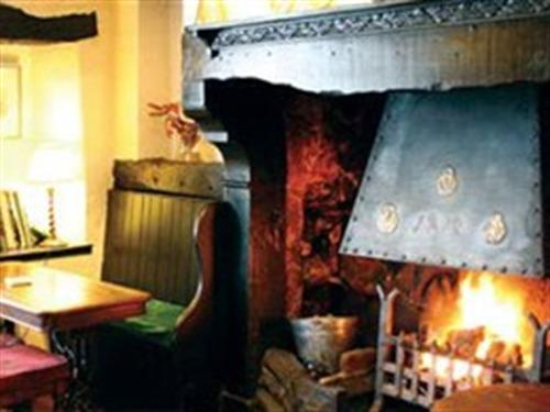 Relax in front of roaring log fires