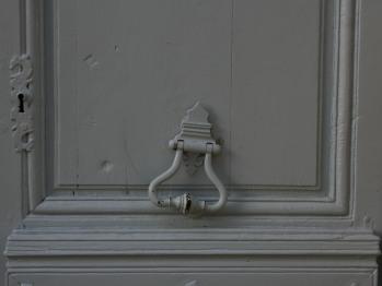 La porte d'entrée.