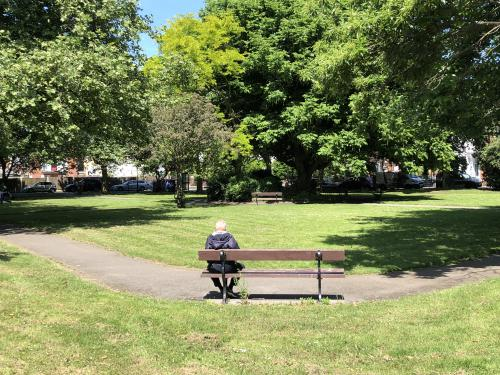 Waverley Park across the road
