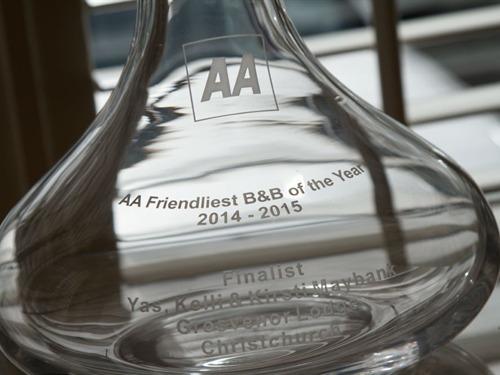 AA 2014 Frielndly B&B Finalists