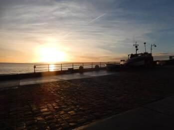 Sunrise from Cobble Landing