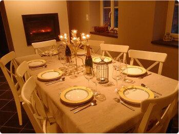 Table d'hôte le soir uniquement