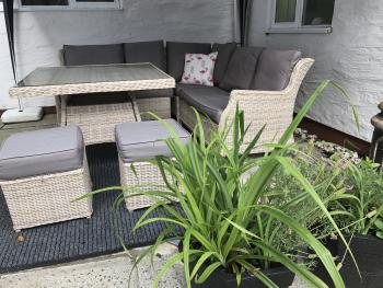 Outside Seating Area in Courtyard
