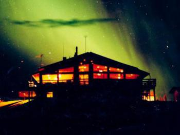 Northern Lights The Point Lodge Alaska
