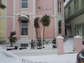 Snow in Torquay