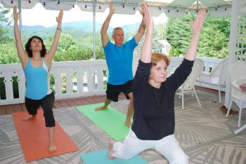 Yoga on the Veranda