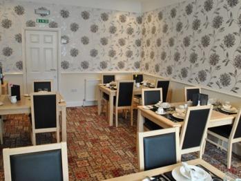 New modern dining room