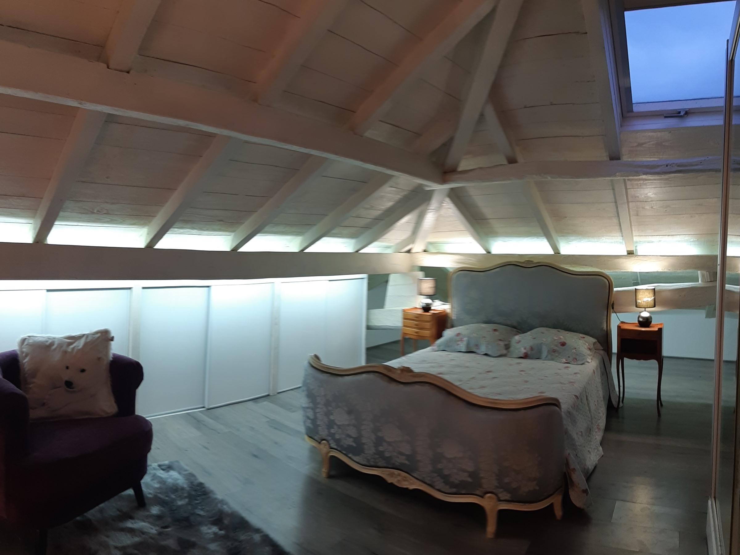 Appartement-au 1 étage-Panoramique-Vue sur la campagne-Salle de bain privée séparée - Tarif de base