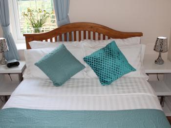 "The Magnolia Suite - Double bedroom - 4ft 6"" bed -  part of your 2 bedroom suite"
