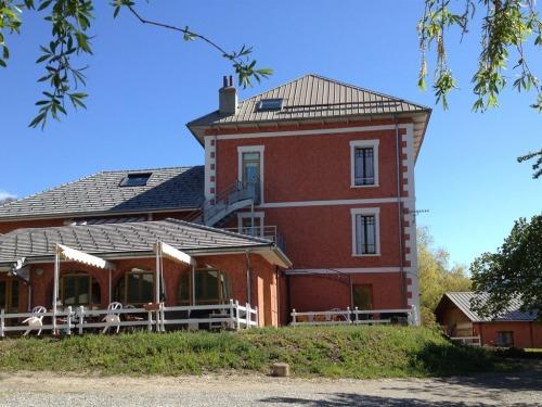 La maison vue depuis le jardin