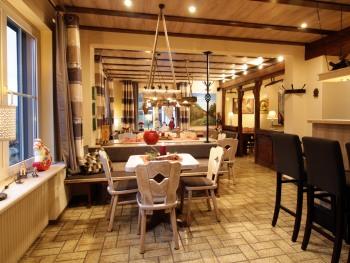 Restaurant und Aufenthaltsraum