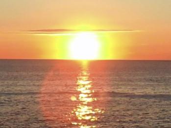 Sun Rise View From The Inn