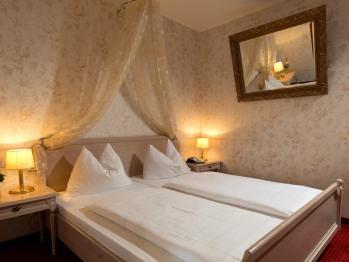 Schlafbereich einer Suite