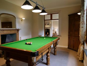 Wooladon House  - snooker room