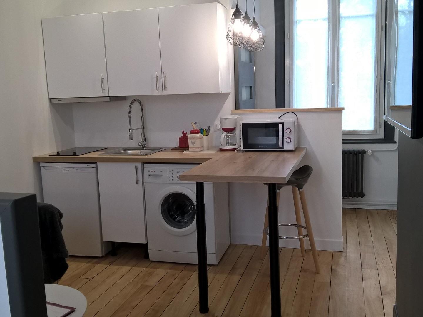 Appartement-Salle de bain privée séparée-Gîte / 2 Chambres - Tarif de base