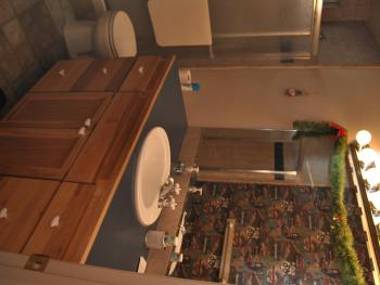 Oak Room Bathroom View 2
