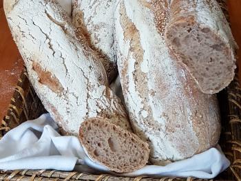 Ici, le pain au levain est fait maison !