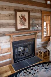 Relax in front of the gas fireplace in one of the living rooms