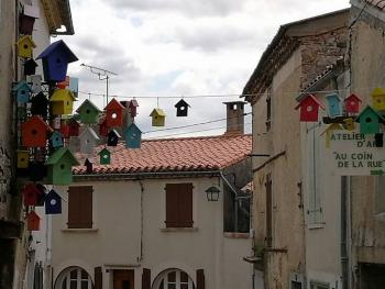 August festival of arts in Montolieu
