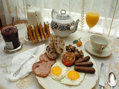 A typical Irish breakfast