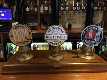 A good selection of real ales are always available
