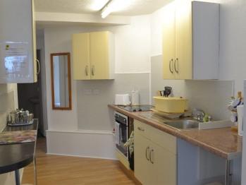 Ashbury Tor apartment, kitchen