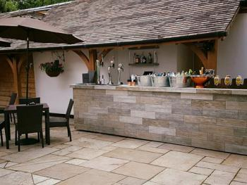 Outdoor Courtyard Bar