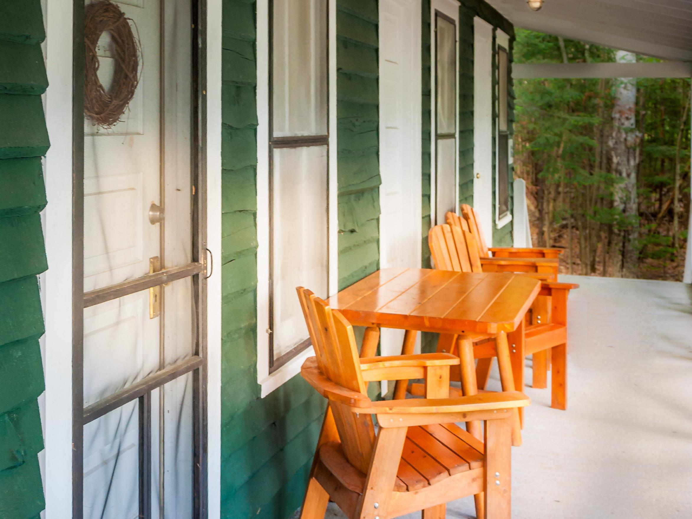 Osgood Cabin -- Pond View