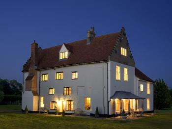 Darsham Old Hall - At night