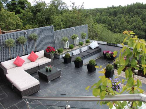 View of garden from bedrooms