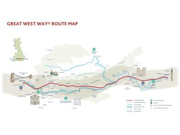 Great West Way Route Map