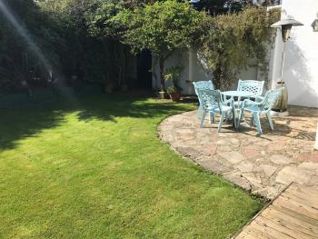 Our beautiful sunny Garden - the perfect place for breakfast or a quiet seat in the sun