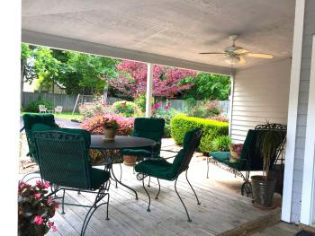 Mountain Laurel Room - private porch