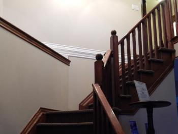 Main Stairs to Guest Rooms