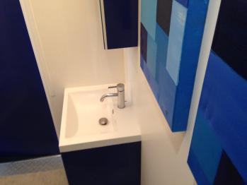Le Lodge Bleu (Salle de bains)