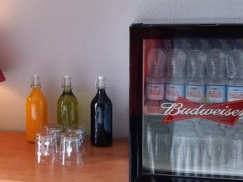 Complimentary Drinks Fridge