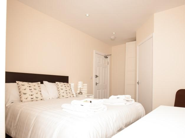 Double room-Economy-Ensuite with Shower-Street View-Brewery House Bury - Base Rate