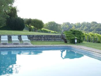 Access to shared outdoor pool and grounds