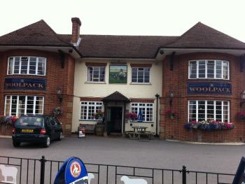 The Woolpack Inn - Front View