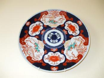Decorative plate, Drummond Bedroom, Carlton Seamill