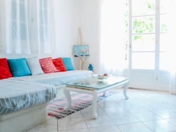 Living Room, Beach front Villa.