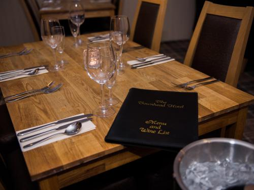Relaxed dining in our restaurant