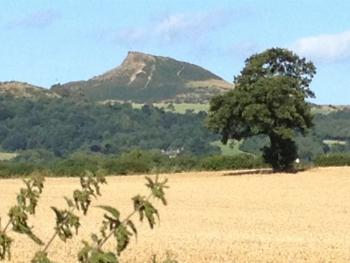 Roseberry Topping, Captain James Cooks childhood viewing point.