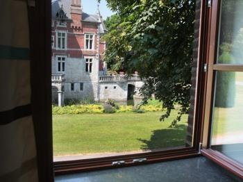 Chambre 1 - Vue sur le Château