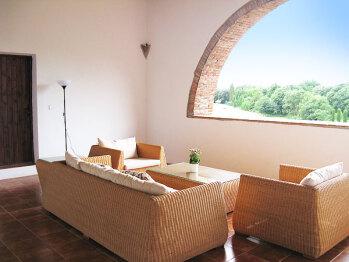 Top floor terrace