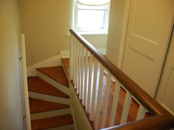 Third-floor stairwell